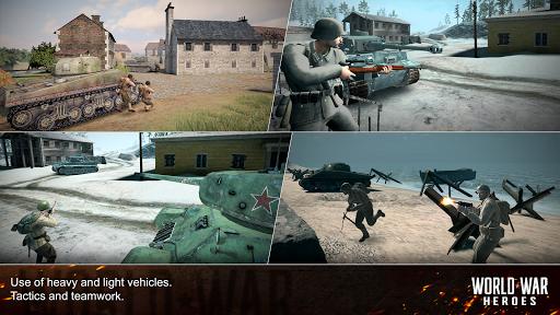 World War Heroes: WW2 FPS Shooting games! 1.6.3 screenshots 12