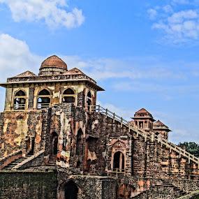 Jahaz Mahal by Sourabh Mohanty - Buildings & Architecture Public & Historical ( historical, mandu )