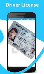 Driver license: scanner, reader, decode, get info - náhled