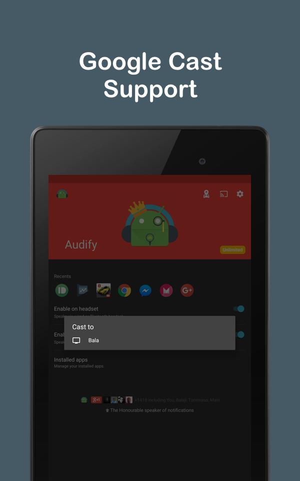 Audify Notifications Reader Screenshot 10