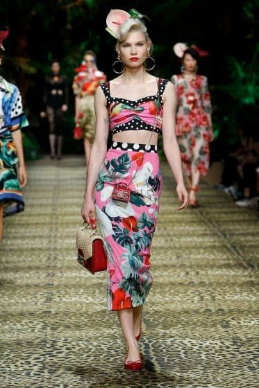 Défilé Dolce & Gabbana : tendances printemps-été 2020