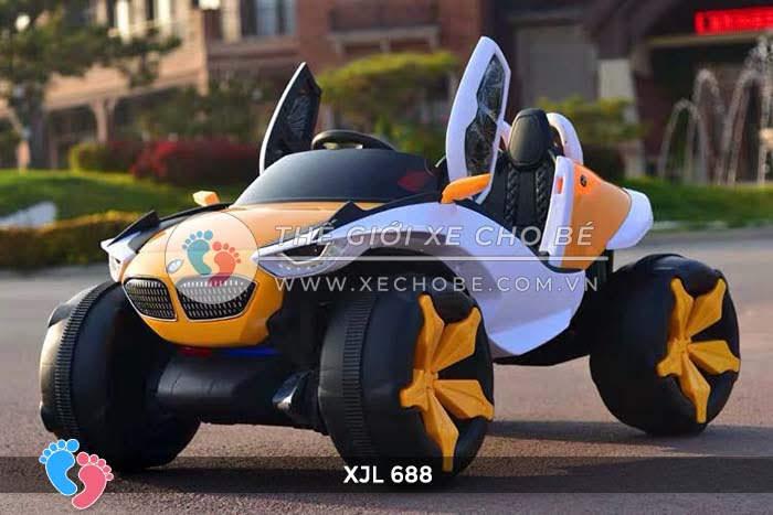 Xe ô tô điện địa hình cho bé XJL-688 9