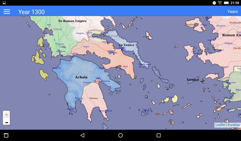 Euratlas Periodis- screenshot