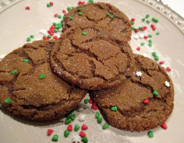 ~ Gram's Chewy Molasses Cookies ~ Recipe