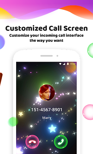 Color Phone Flash - Call Screen Theme, LED  3