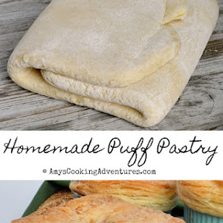 Homemade Puff Pastry.