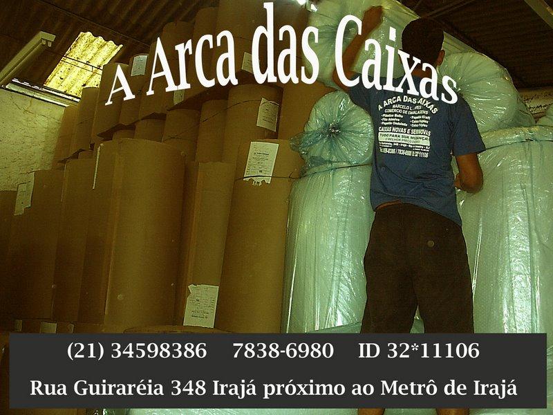 PAPELÃO ONDULADO - ARCA DAS CAIXAS