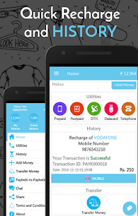 Recharge,Bill Payment  Wallet- screenshot thumbnail