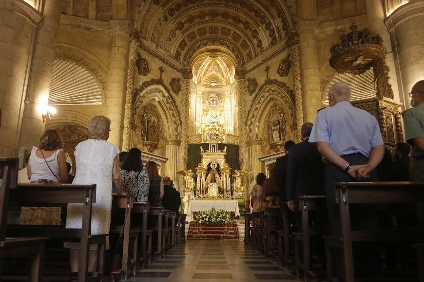 El Santuario se encontraba lleno de almerienses