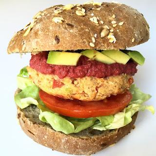 Veggie Chickpeas Burger