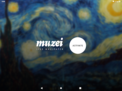 Muzei Live Wallpaper Screenshot