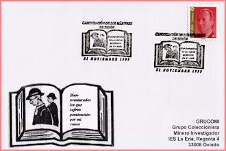 Photo: Matasellos la Canonizacion de los martires de Turon