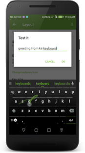 Kii Keyboard 2 Screenshot