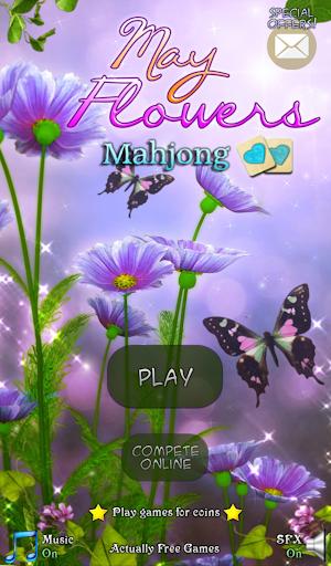 Hidden Mahjong: May Flowers