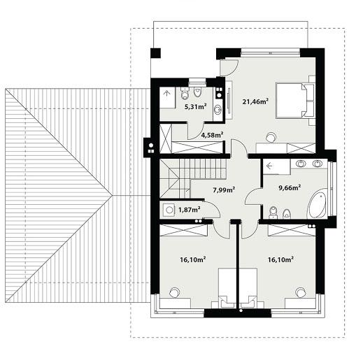 Enes 2 - Rzut piętra