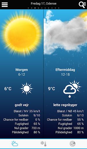 玩免費天氣APP|下載デンマークの天気 app不用錢|硬是要APP