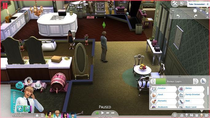 Sims 4 Trait mod - Add more CAS