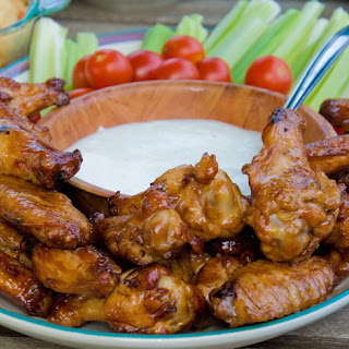 Blasphemy Buffalo Chicken Wings On The Grill.