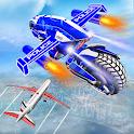 Flying Bike Robot Transforming War icon