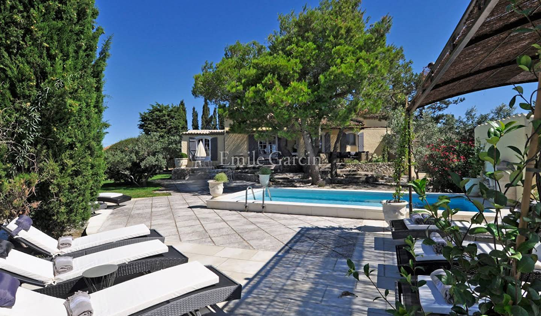 Propriété avec piscine et jardin Fontvieille