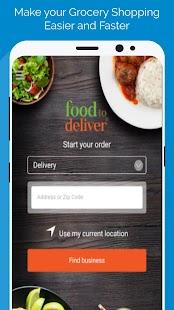 Food To Deliver - náhled