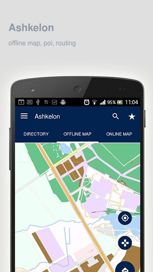 Ashkelon Map offline Android Apps on Google Play