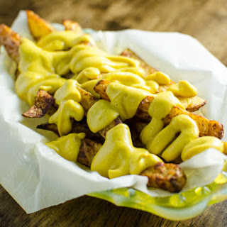 No Guilt Cheesy Fries - Vegan and Gluten Free
