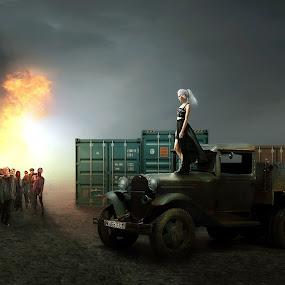 Zombie empire by Odlie Ahmad - Digital Art Places (  )