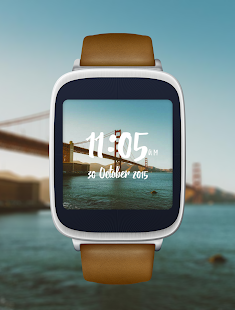 Willow - Photo Watch face - náhled