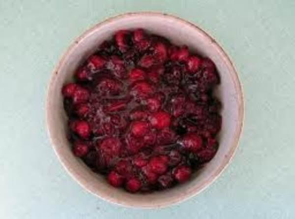 Triple Cranberry Sauce Recipe