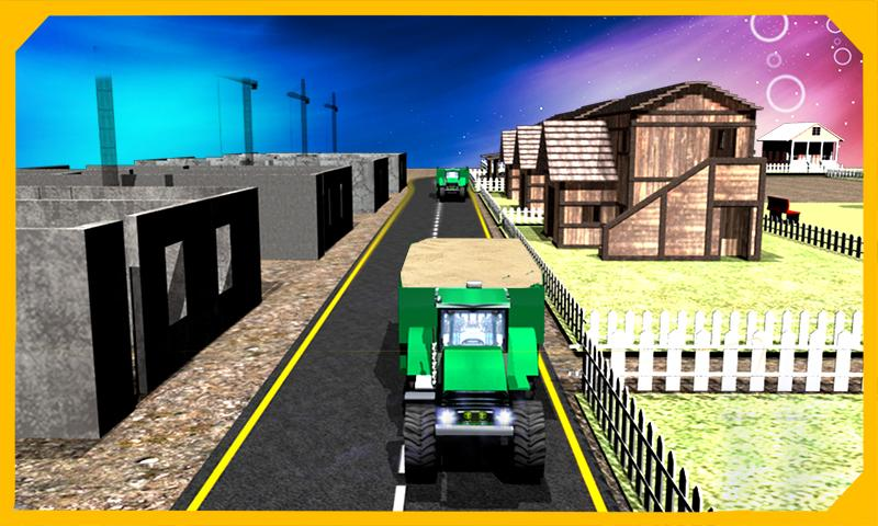 Tractor Sand Transporter 3D- screenshot