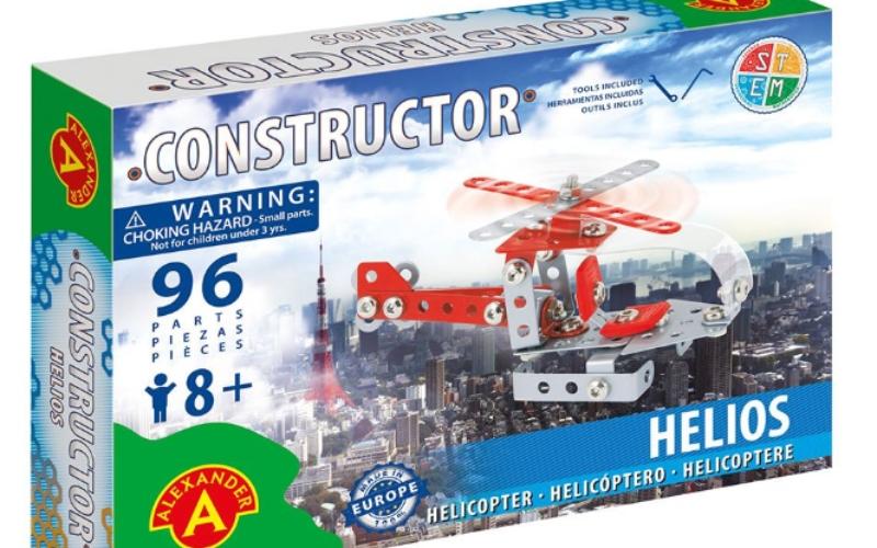 helikoptera metāla konstruktors