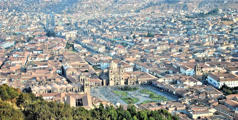 L'ombellico del mondo. Cusco. di RITROB