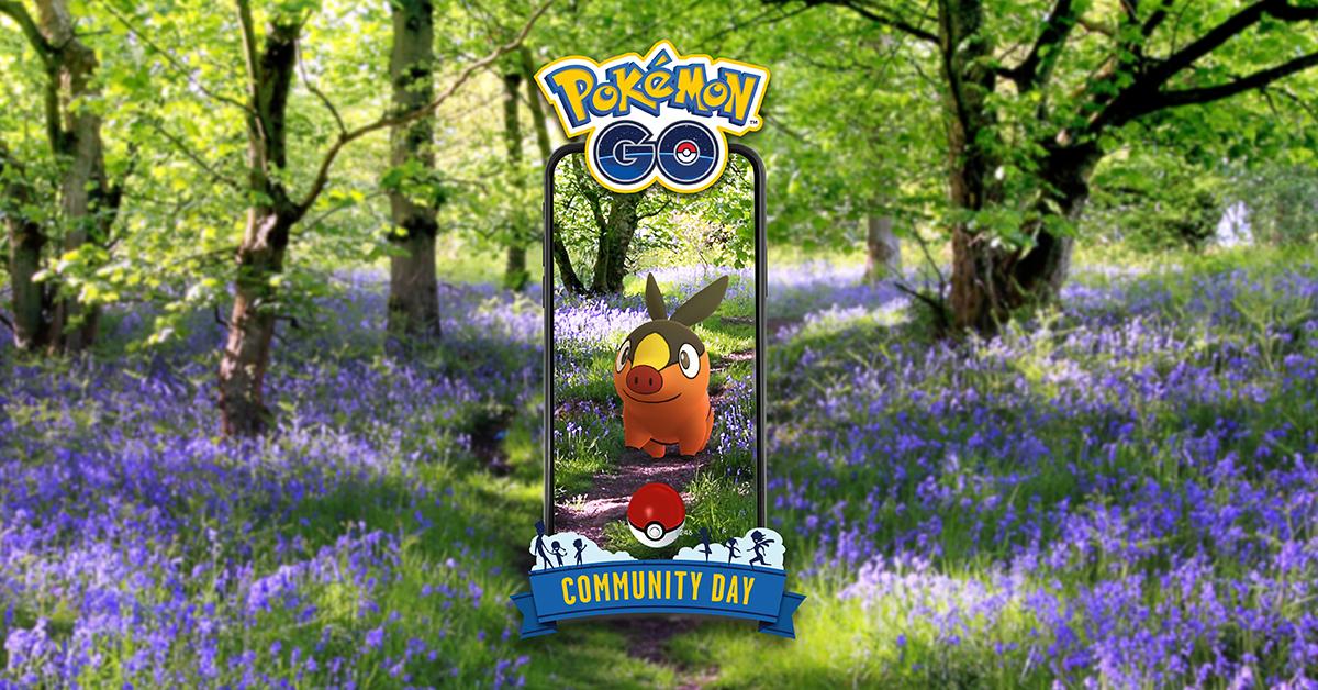 Community Day Pokémon GO - Juli 2021 - Tepig [image by pokemongolive.com]