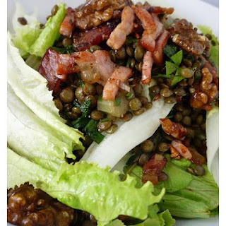 Lentil and Walnut Salad