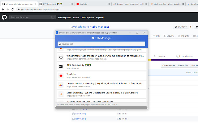 Tabs Manager