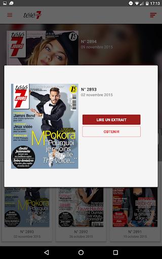 玩免費新聞APP|下載Télé 7 Jours Magazine app不用錢|硬是要APP