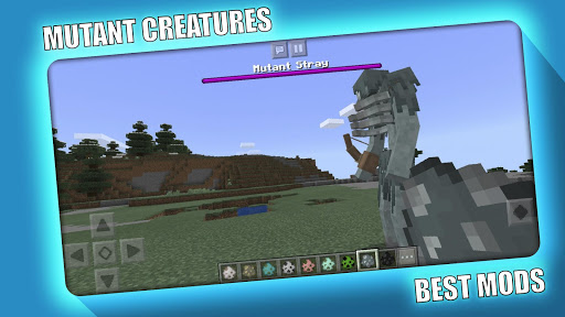 MUTANT CREATURES MOD MCPE screenshots 4