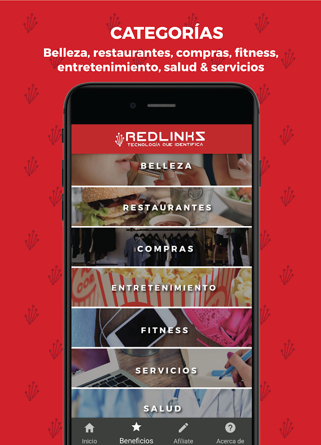 Redlinks- screenshot