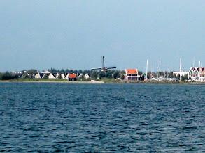 Photo: Volendam in the distance.