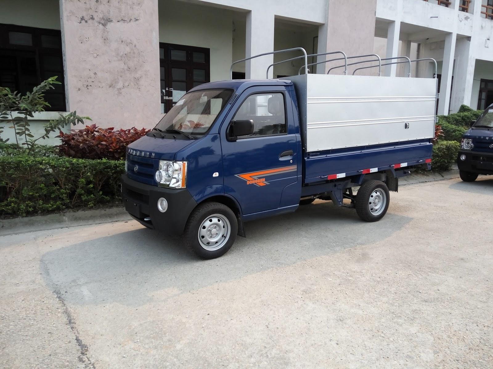Giá bán xe tải DongBen 770KG, 800KG chỉ cần vốn 50 triệu có xe ngay