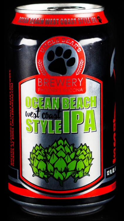Logo of Uncle Bear's Ocean Beach West Coast Style IPA