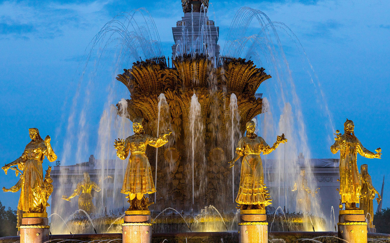 Moscow VDNH tourist attraction