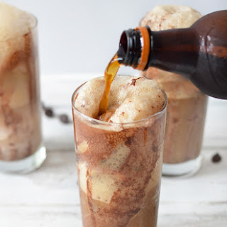 Chocolate Root Beer Float