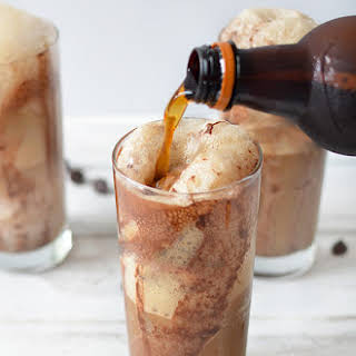 Chocolate Root Beer Float.