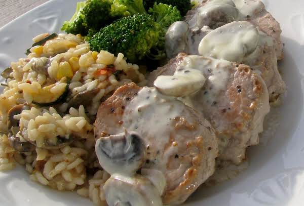 Pork Medallions With Dijon Mushroom Sauce Recipe