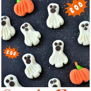 Spooky Easy Ghost Treats Recipe