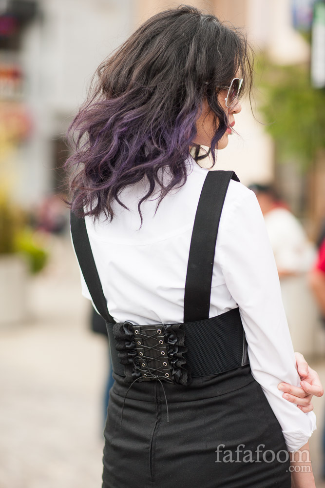 Waist Corset Belt Refashion - DIY Fashion Accessories | fafafoom.com