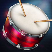 Drums: real drum set music games to play and learn