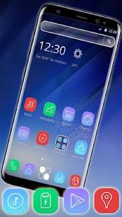 Stylish Galaxy Phone Theme - náhled